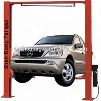 Sale 4.5T Tons Electric Gantry Car Lift 2 Post Clear Floor Car Lift Auto Lift