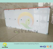 Slide hockey shooting pad/ hd-pe plastic fence boards ice rink barrier
