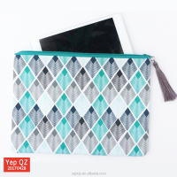 High Quality Cotton Zipper Pouch Canvas
