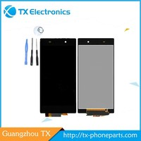 Wholesale touch screen digitizer replacement assembly parts display original lcd for sony xperia neo l mt25i repair