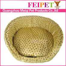 Great soft fleece warm pvc outside pet bed luxury dog bed wholesale pet supplies in china