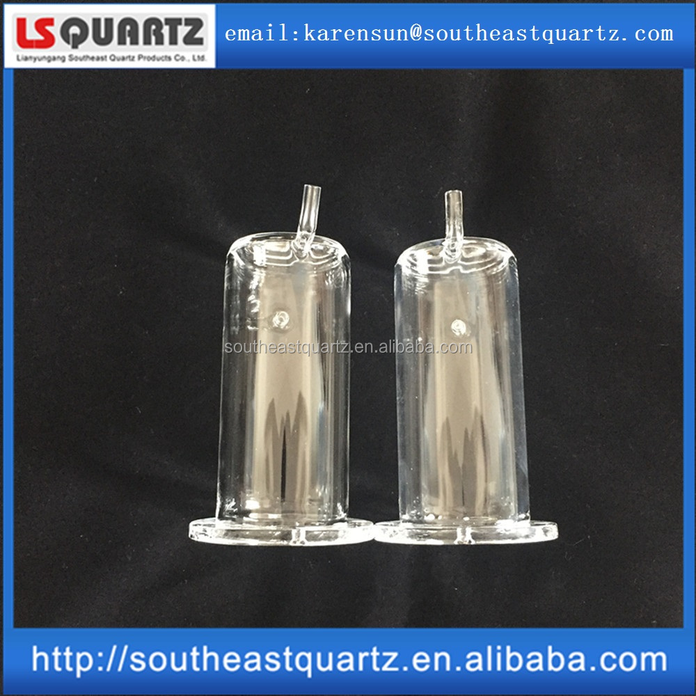 High temperature resistance quartz vessel for industry