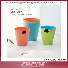 Factory wholesale environmental plastic dustbin mini garbage storage household decorative trash can