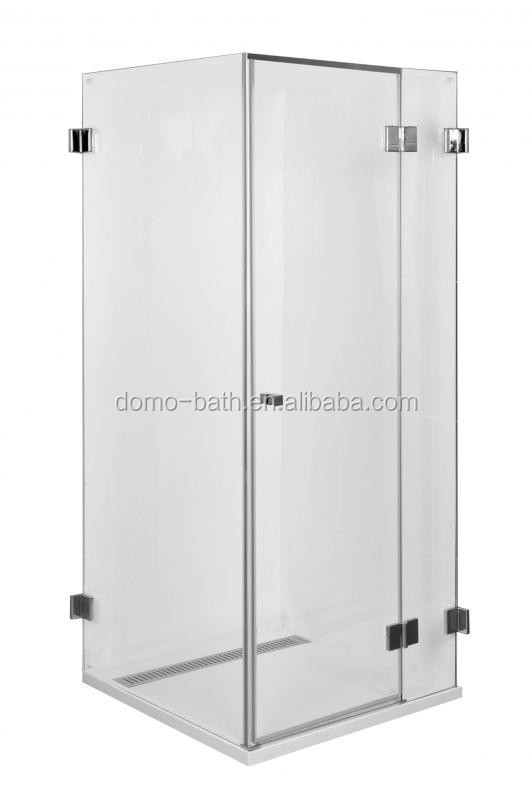 DOMO Stainless Steel Tempered Glass Shower Enclosure/shower Room