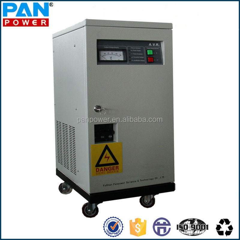 high quality 3 phase automatic voltage stabilizer 10kva