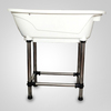 High quality plastic pet bath tub/dog grooming bath tub H-115