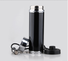 12V 500ml Car Travel Auto Stainless Steel Heating Electric Thermoses Bottle Coffee Tea Cup My Boiling Water Bottle Vacuum Flasks