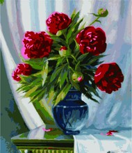 Famous artist still life flower paint sets for painting from oringail paint manufacturer with SGS