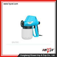 high quality antistatic electrostatic paint spray gun adjustable and wall paint spray gun