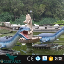 OAD2029 customized plesiosaurus decorating theme park outdoor