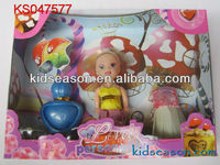LOVELY SMALL FASHION DOLL SET,KS047577