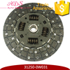 31250-0W031 Cast Iron Made Clutch Disc For Land Cruiser FZJ80/FZJ100 On Alibaba China.Com