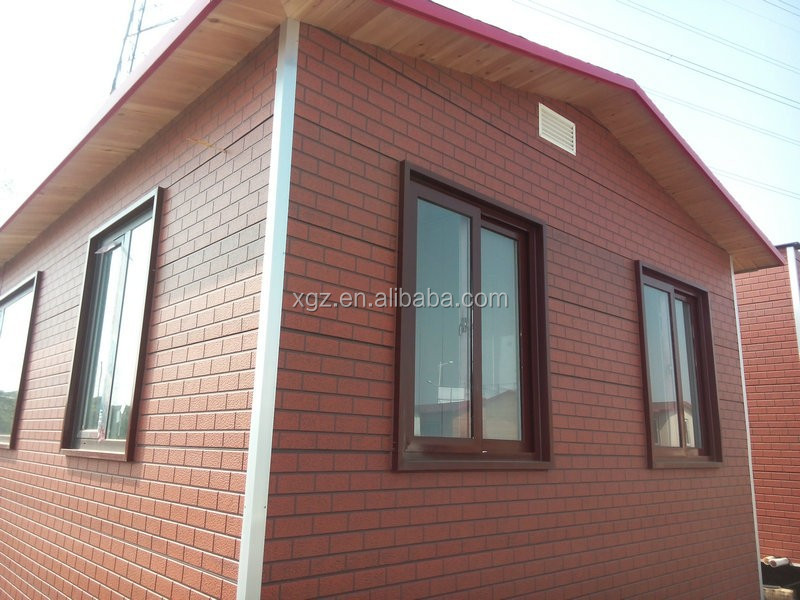 cheap prefab modular 40 foot container house with bathroom