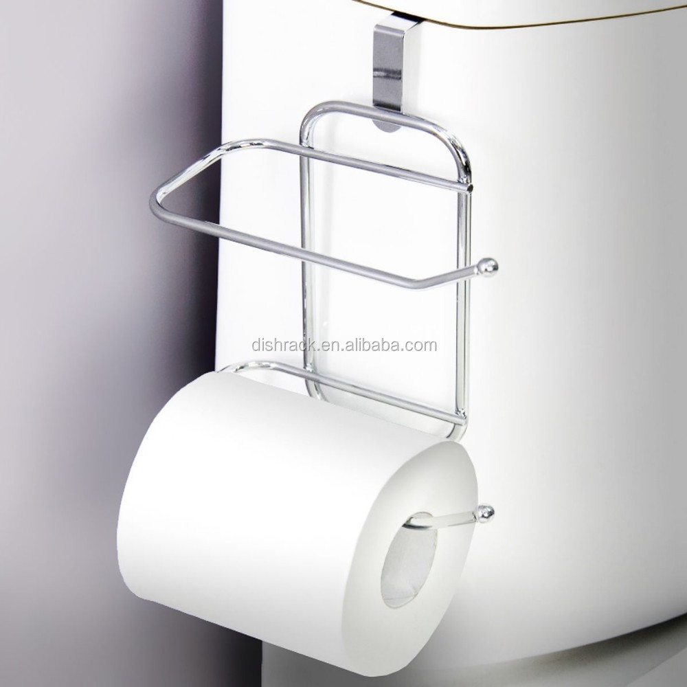 toilet paper tissue hanging metal 2 roll reserve holder buy toilet paper holder toilet paper. Black Bedroom Furniture Sets. Home Design Ideas