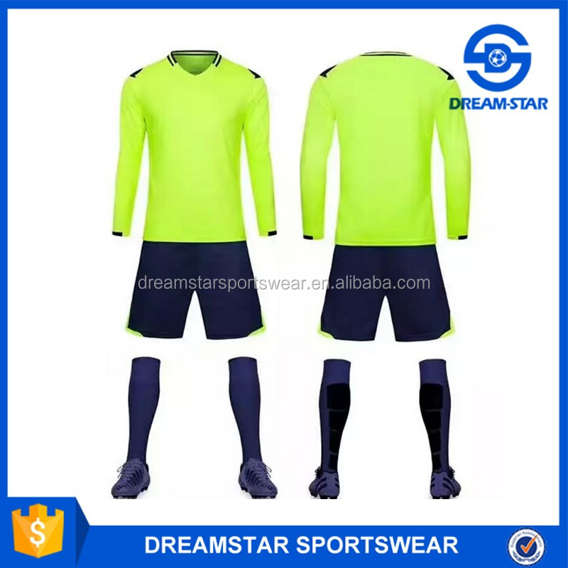 High Quality Cheap Green Soccer Uniforms from China