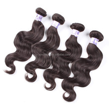 "Cheap & best 22"" Mongolian human hair weft,body wave, remy virgin hair weaving"