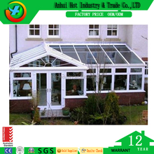 High quality large glass aluminum frame commercial window price with CE approved
