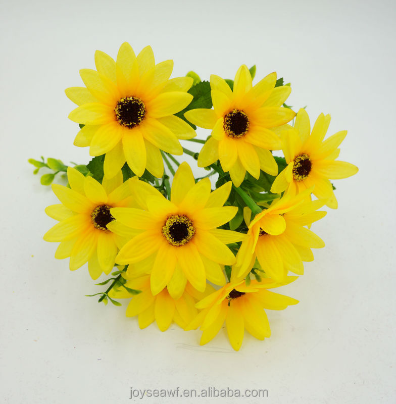 high quality table wedding table decoration artifical flowers/silk gerbera daisy flowers