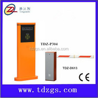 TDZ Compact Foldable Traffic Road Safety Automatic access control barrier gate for parking and vehicle access