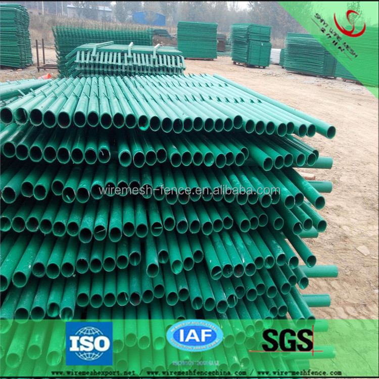 double wire edged welded fence/cheap PVC coated wire fence/protection fencing