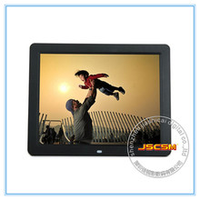 12 inch TFT LCD square screen digital photo album free download mp4 movies in hd