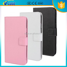 Newest plain weave texture flip leather wallet leather phone case for lg optimus g pro f240k