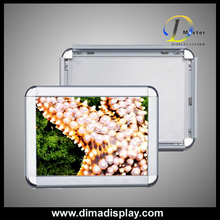 poster frame Aluminum advertising frame,illuminated advertising boards
