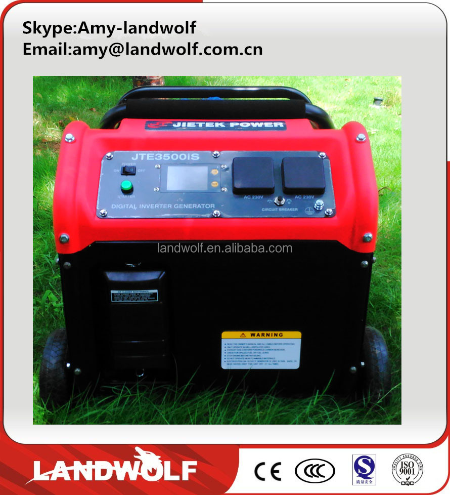 Landwolf new developed small portable inverter gasoline generator camping gasoline generator for sale