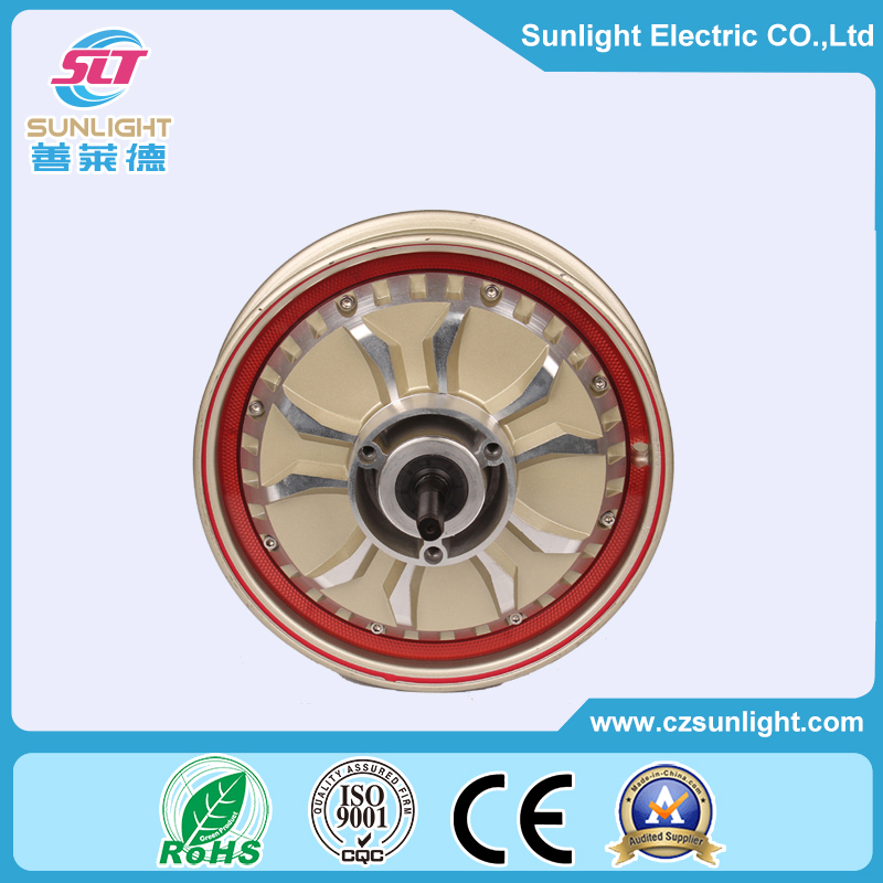 48v 1000w brushless hub motor for electrical motorcycle