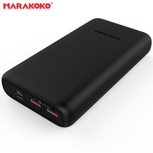 High Quality Promotion MPB5 20000mAh 2 Port USB QC3.0 and Type C PD3.0 Fast Charging Power Bank