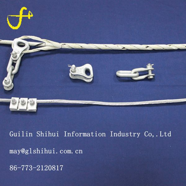 Electrical Preformed goods of aluminum cable clamp hot sale in bolivia