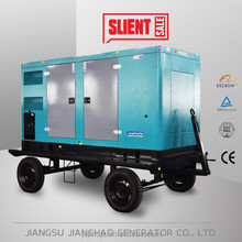 hot sale trailer generator,mobile generator 100kw 125kva diesel generating set