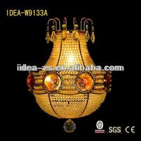 Vase crystal wall lamp decorative lighting W9133A