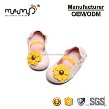 little girls elastic ballet shoes wholesale toddlers flower shoes