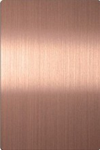 Foshan Hairline rose gold Stainless Steel Sheets