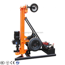more than 80m, diameter from 90-168mm diameter small water borehole well drill rig/trailer type drilling machine