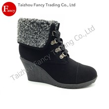 Outdoor Slip-Resistant Women Fashion Pictures Of Boots For Women Nude