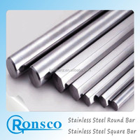 stainless steel matte finish round bar 430f 304 high hrc
