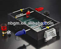 Mini Table Tabletop Soccer Football Drinking Game