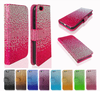 Pu Leather Beauty Fancy Bling Phone Case For Samsung Galaxy S2 S3 S4 S5 S6
