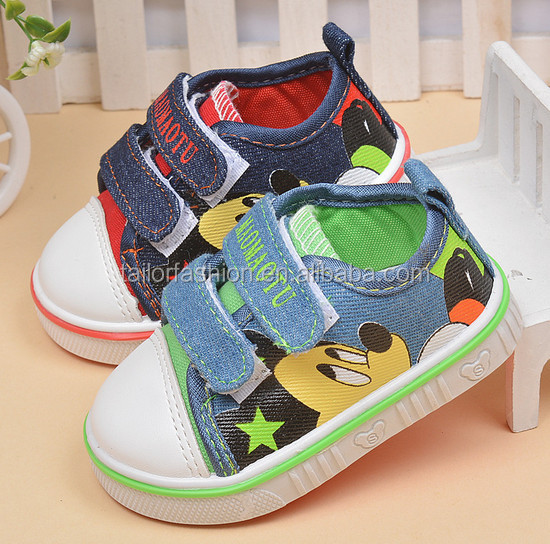 Toddler Basic Canvas Slip On Loafers Casual Sneakers shoes