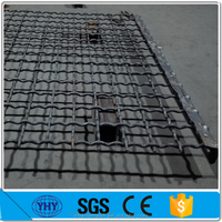 65Mn steel woven wire mesh / vibrating screen mesh
