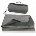 "Extra Large 79""x58"" Waterproof Outdoor Camping Blanket with Warm Fleece Great for Beach, Camping, Festival, Stadium and Picnic"