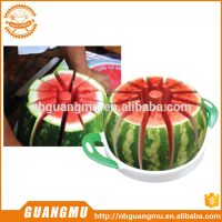 Large Stainless Steel Slicer with Blade Protection, Slices Fruit, Melons, Watermelon, Pineapple, and More Simply Get 12 Perfect