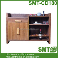 Solid Wood Furniture Antique Wine Cabinet