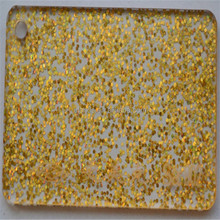 Good Glitter fabric Acrylic Sheets for artwork