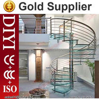 prefab steel stair stringers stainless steel glass staircase acrylics stair