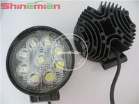 27W LED Working Light LED Headlight for Motorcycles LED Work Lights