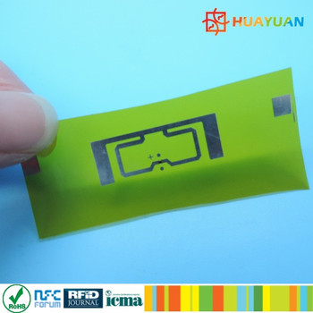 860-960 MHz UHF Heat Resistant RFID Inlay