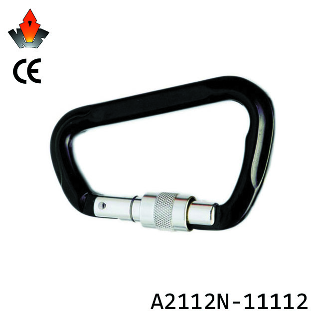 Certified top custom metal type climbing hiking metal carabiner